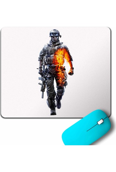 Kendim Seçtim Battlefield 1 2 3 4 Game Point Mouse Pad