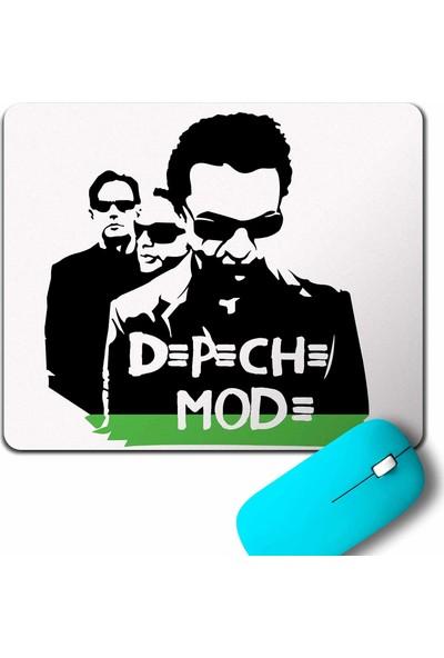 Kendim Seçtim Depeche Mode Green Yeşil D=P=C= Mod= Mouse Pad