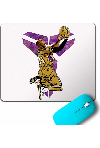 Kendim Seçtim Kobe Bryant Black Mamba Nike Logo Nba Basketball Mouse Pad