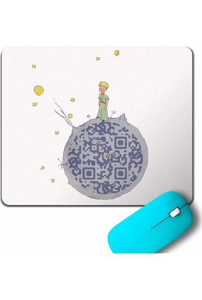 Kendim Seçtim Le Petit Prince Little Küçük Prens Mouse Pad