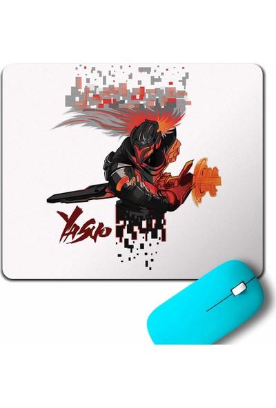 Kendim Seçtim League Of Legends Lol Yasuo Logo Mouse Pad