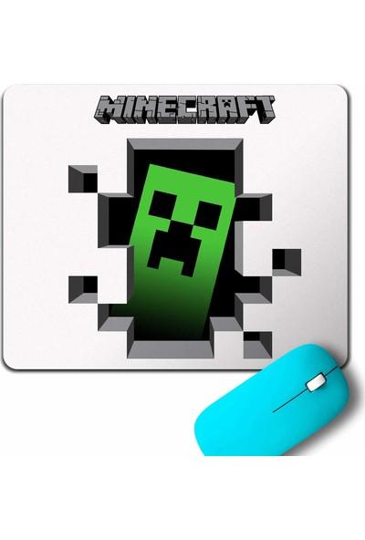 Kendim Seçtim Minecraft Creeper inside Mouse Pad
