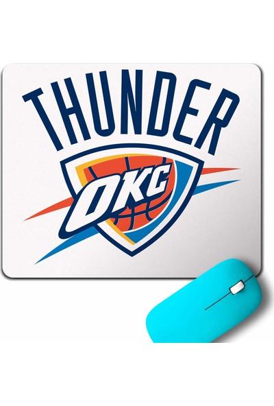 Kendim Seçtim Oklahoma City Logo Thunder Basketball Mouse Pad