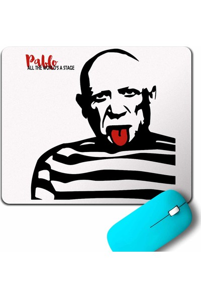 Kendim Seçtim Pablo Picasso All The Worlds A Stage Mouse Pad