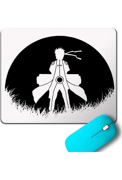 Kendim Seçtim Red Moon Naruto Silhouette Spy Anime Manga Mouse Pad