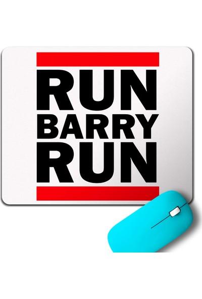 Kendim Seçtim Run Barry Run Flash Star Mouse Pad