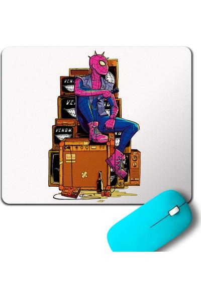Kendim Seçtim Spider Man Punker Marvel Örümcek Adam Mouse Pad
