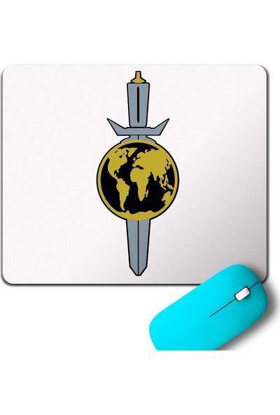 Kendim Seçtim Terran Empire Logo Star Trek Mouse Pad