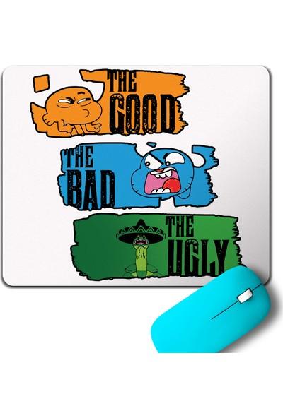 Kendim Seçtim The Amazing World Of Gumball Good Bad Ugly Mouse Pad