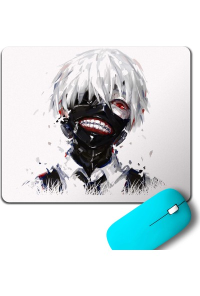Kendim Seçtim Tokyo Ghoul Kaneki Anime Manga Mouse Pad
