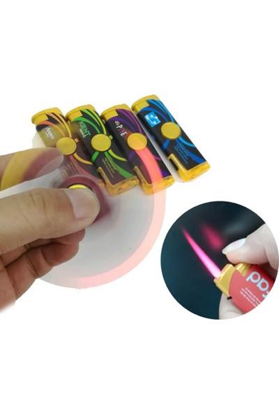 Mory Concept Stres Çakmağı Stres Çarklı Çakmak Izgaralı Led Işıklı 6'Lı