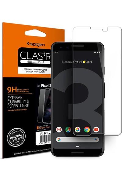 Spigen Google Pixel 3 Cam Ekran Koruyucu GLAS.tR SLIM - F19GL25583