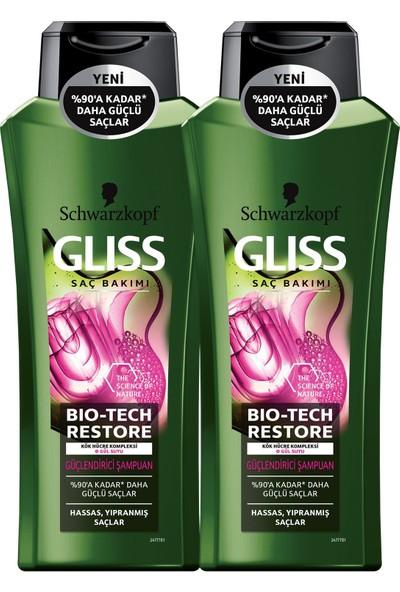 Gliss Bio-Tech Güçlendirici Şampuan 500 ml x 2 Adet