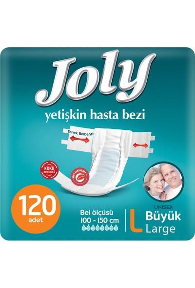 Joly Yetişkin Bezi Large 120' li