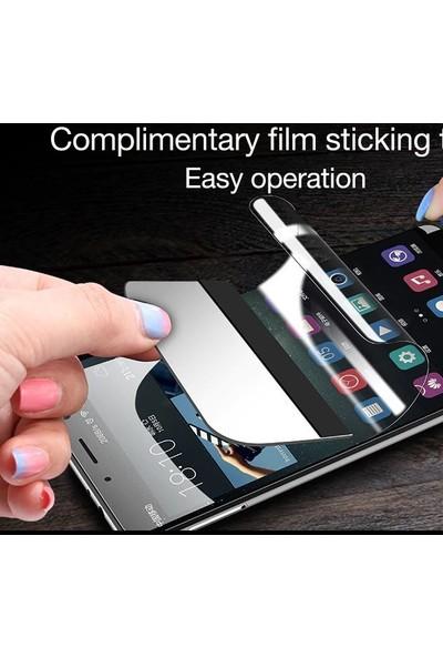 Engo Samsung Galaxy A20 Ekran Koruyucu 6D Campet Flexible Yeni Nesil Tam Kaplama 9h Temperli Film