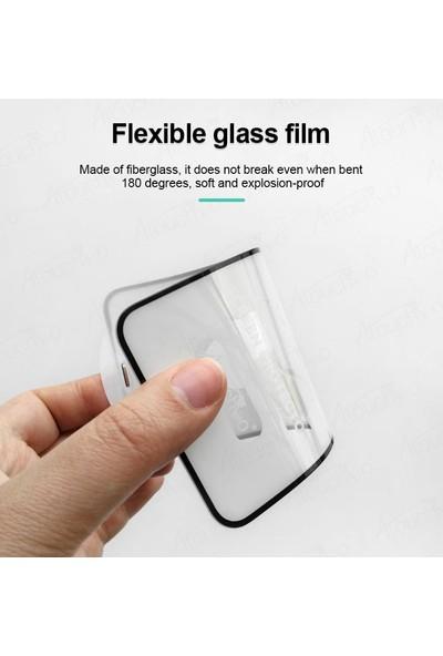 Engo Huawei Y7 2019 Ekran Koruyucu 6D Campet Flexible Yeni Nesil Tam Kaplama 9h Temperli Film