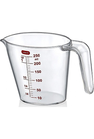 Liquid Pratik Kulplu Ölçü Kabı 250 ml