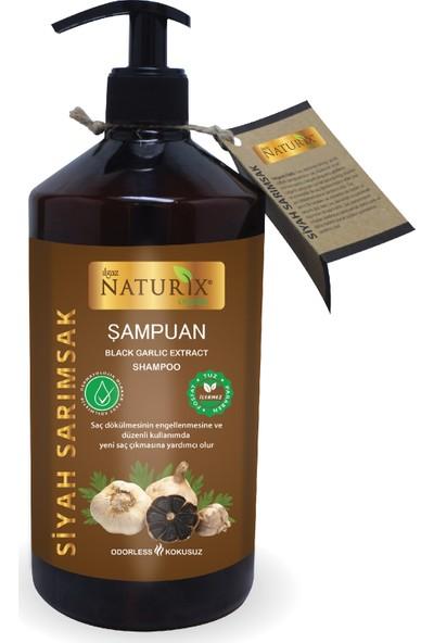 Naturix Siyah Sarımsak Şampuanı 1000 ml
