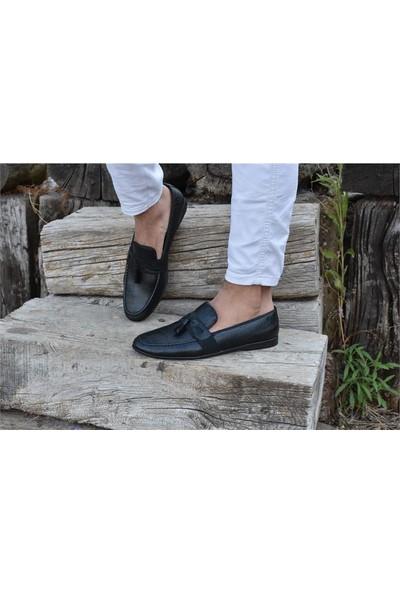 Shoes A05 Siyah Klasik Erkek Ayakkabı