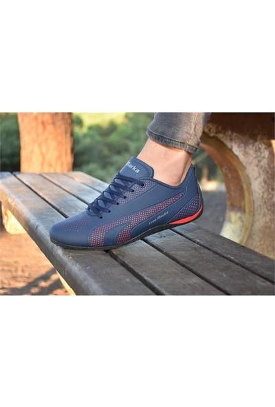 Free Marka 6040 Lacivert Günlük Erkek Spor Ayakkabı