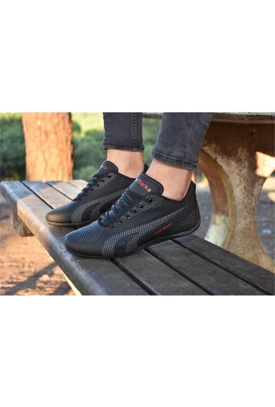 Free Marka Fm-6040 Siyah Füme Günlük Rahat Erkek Spor Ayakkabı