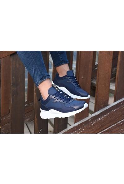 Free Marka Fm-6530 Lacivert Günlük Rahat Erkek Spor Ayakkabı