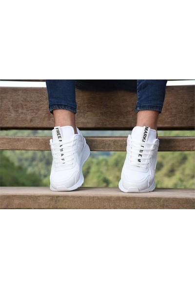 Free Marka Fm-6530 Beyaz Günlük Rahat Erkek Spor Ayakkabı