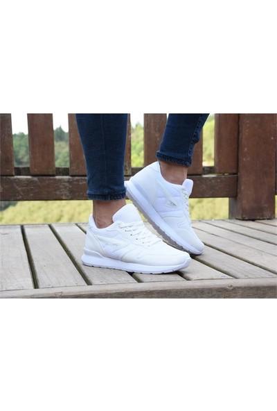 Free Marka Fm-6130 Beyaz Günlük Rahat Erkek Spor Ayakkabı