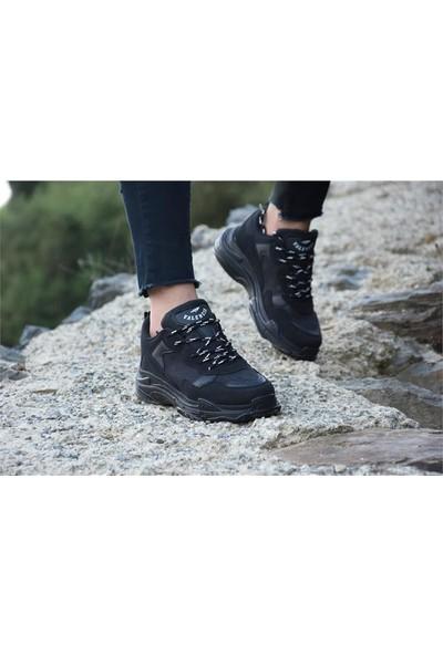 Free Marka Fm-5420 Günlük Rahat Kadın Spor Ayakkabı Siyah