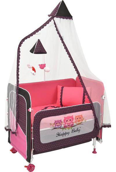 Happy Baby Anne Yanı Asansörlü Beşik
