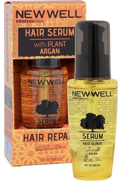 New Well Argan Saç Serumu 50 ml