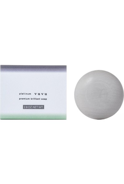 Platinum Vuvu Premium Brilliant Yüz Sabunu 80 gr