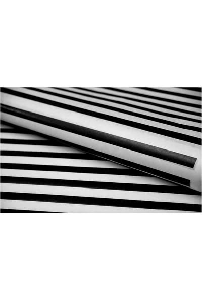 Rocopaper Ambalaj Kağıdı Siyah Çizgili - 20 Ad.