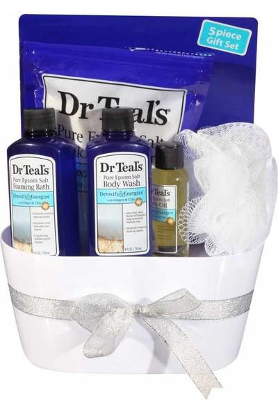 Dr. Teals Zencefilli Rahatlatıcı Banyo Küvetli Seti