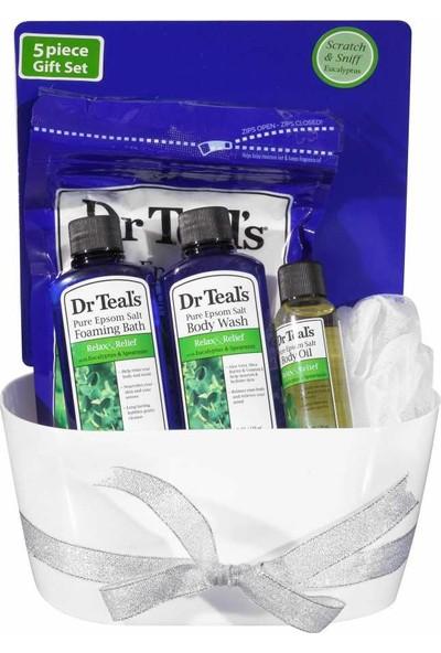 Dr Teals Okaliptüslü Rahatlatıcı Banyo Küvetli Seti