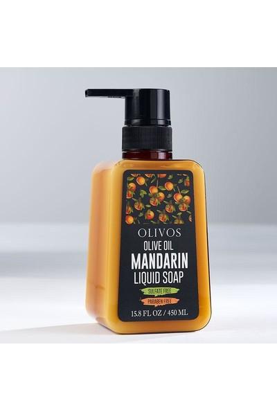 Olivos Zeytinyağlı Mandalina Sıvı Sabun 450 ml