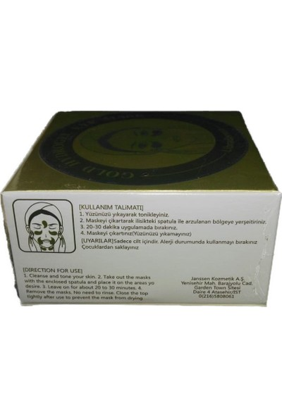 Libradermo Gold Hydrogel Eyemask Gözaltı Maskesi