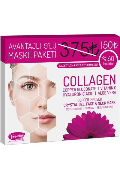 Voonka Collagen Mask Combo 9 Adet