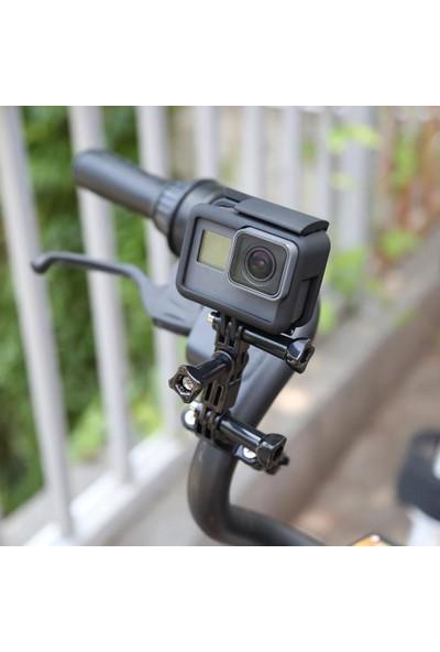 KingMa GoPro Uyumlu Bisiklet Gidon Bağlantı Aparatı