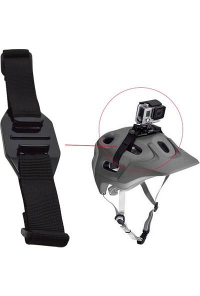 KingMa GoPro Uyumlu Hava Delikli Bisiklet Kaskı Bağlantı Aparatı