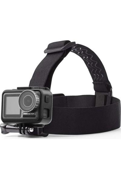 KingMa GoPro Uyumlu Kafa Baş Bandı Head Strap