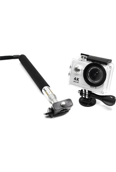 KingMa GoPro Uyumlu Monopod ve Bağlantı Adaptörü