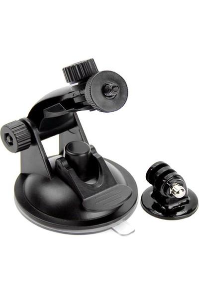 KingMa GoPro Uyumlu Vantuz Vakumlu + Bağlantı Aparatı