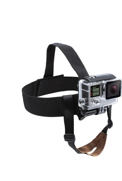 KingMa GoPro Uyumlu Çene Destekli Kafa Bandı