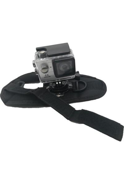KingMa GoPro Uyumlu 360 Derece Eldiven Tipi Bilek Bandı
