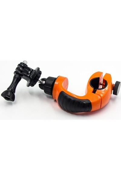 KingMa GoPro Uyumlu Bisiklet Motosiklet Gidon Bağlantı Aparatı