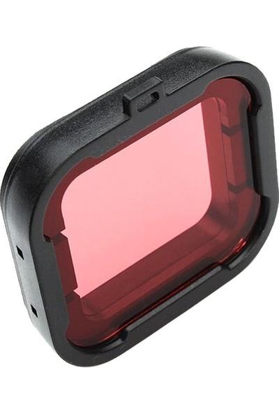 KingMa GoPro Hero 3+ 4 Uyumlu Sualtı Dalış Filtresi Kırmızı