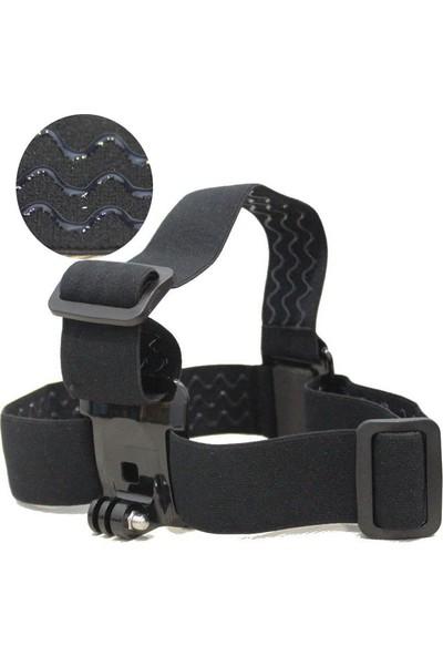 KingMa GoPro Uyumlu Kafa Bandı ve Monopod Seti