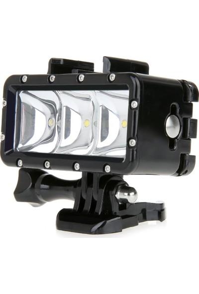 KingMa GoPro Uyumlu Su Altı Dalış Işığı Lambası
