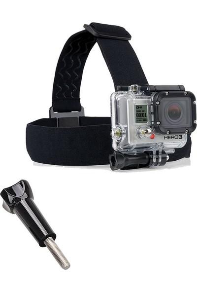 KingMa GoPro Uyumlu Kafa Bandı ve Sabitleme Vidası Head Strap